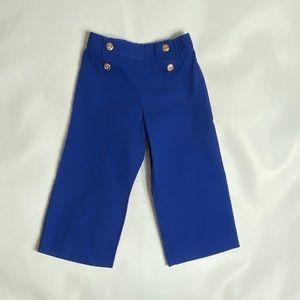 EUC Janie and Jack Sailor Blue Pants 3T